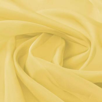 vidaXL Voal Tekstil 1,45x20 m Žuti
