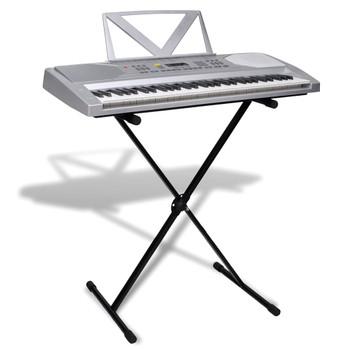 Elektronička klavijatura s 61 tipkom i stalak