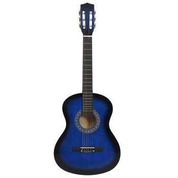 """vidaXL Klasična gitara za početnike i djecu plava 3/4 36"""""""