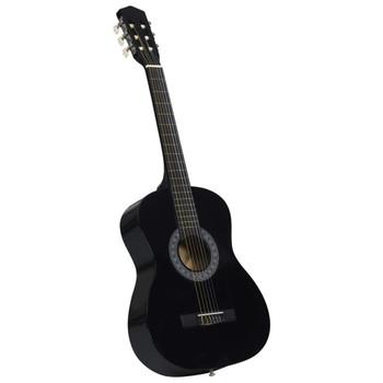 """vidaXL Klasična gitara za početnike i djecu crna 3/4 36"""""""
