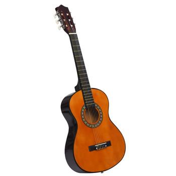 """vidaXL Klasična gitara za početnike i djecu 1/2 34"""" od drva lipe"""