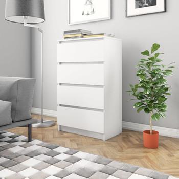 vidaXL Komoda bijela 60 x 35 x 98,5 cm od iverice