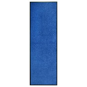 vidaXL Otirač perivi plavi 60 x 180 cm