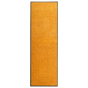vidaXL Otirač perivi narančasti 60 x 180 cm