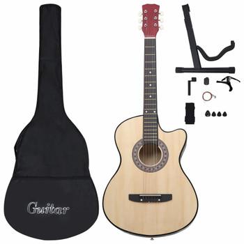 """vidaXL 12-dijelni set akustične gitare Western s prorezom 6 žica 38 """""""