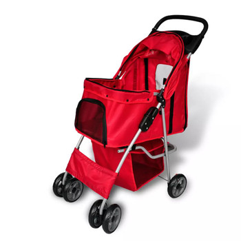 Crvena kolica za pse