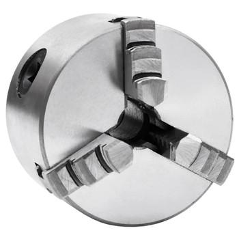 vidaXL Stezna glava za tokarski stroj s 3 čeljusti 80 mm čelična