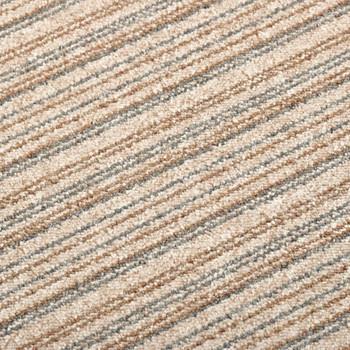 vidaXL Podne pločice s tepihom 20 kom 5 m² 50 x 50 cm prugaste bež
