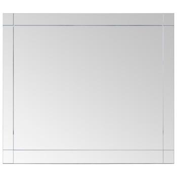 vidaXL Zidno ogledalo 100 x 60 cm stakleno