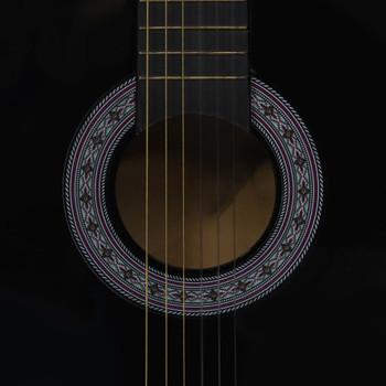"""vidaXL Klasična gitara za početnike s torbom crna 3/4 36 """""""
