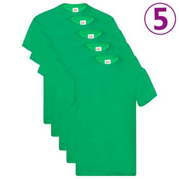 Fruit of the Loom originalne majice 5 kom zelene XL pamučne