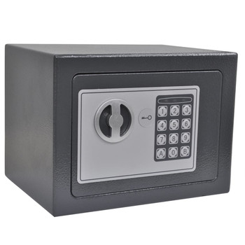 vidaXL Elektronički digitalni sef 23 x 17 x 17 cm