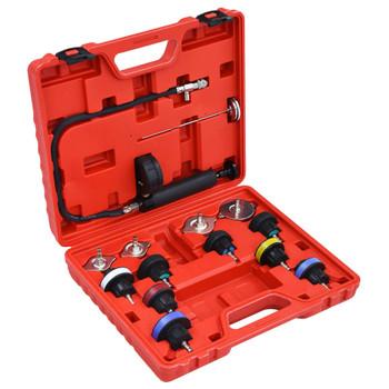vidaXL 14-dijelni set alata za ispitivanje rashladnog sustava