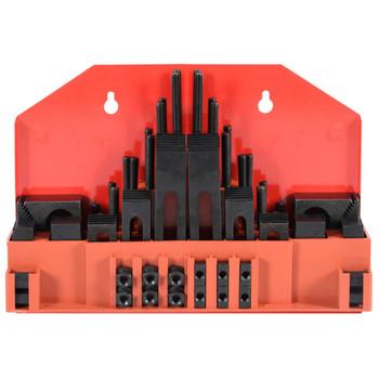 vidaXL 58-dijelni set za stezanje s T-utorom čelični M8