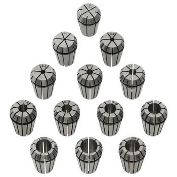 vidaXL 13-dijelni set steznih čahura ER20
