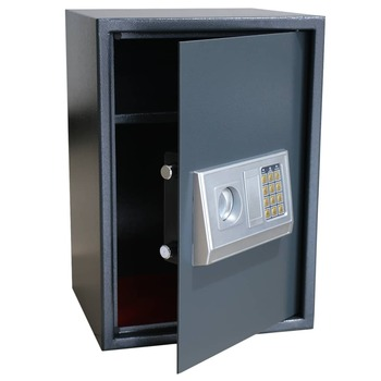 vidaXL Elektronički digitalni sef s policom 35 x 31 x 50 cm