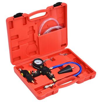 vidaXL Set za vakuumsko pročišćavanje i punjenje rashladnog sustava