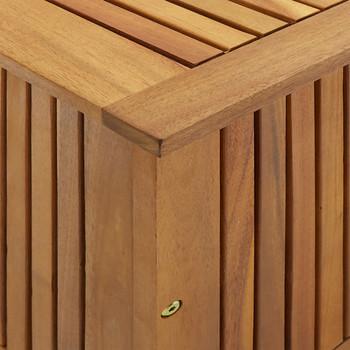 vidaXL Vrtna kutija za pohranu 90 x 50 x 106 cm masivno bagremovo drvo