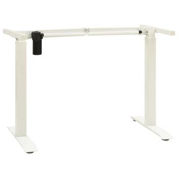 vidaXL Električni okvir za radni stol za rad stojeći podesivi bijeli