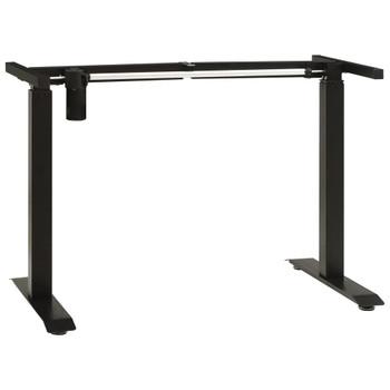 vidaXL Električni okvir za radni stol za rad stojeći podesivi crni
