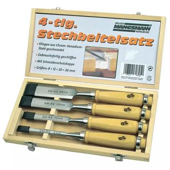 Brüder Mannesmann 4-dijelni set čvršćih dlijeta 66104