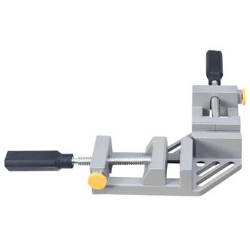 vidaXL Kutna stezaljka s dvostrukom ručkom 95 mm aluminijska