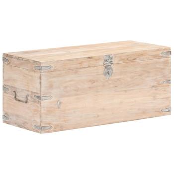 vidaXL Škrinja od masivnog bagremovog drva 90 x 40 x 40 cm