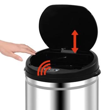 vidaXL Automatska kanta sa senzorom 40 L od nehrđajućeg čelika