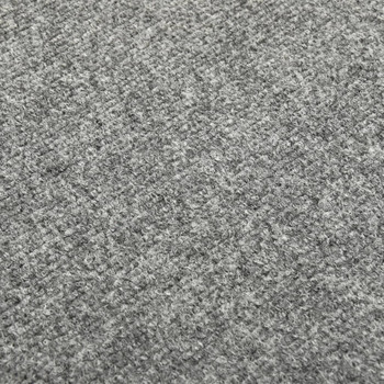 vidaXL Podne pločice s tepihom 20 kom 5 m² svjetlosive