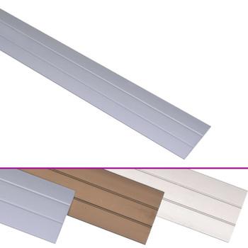 vidaXL Podni profili 5 kom aluminijski 90 cm srebrni