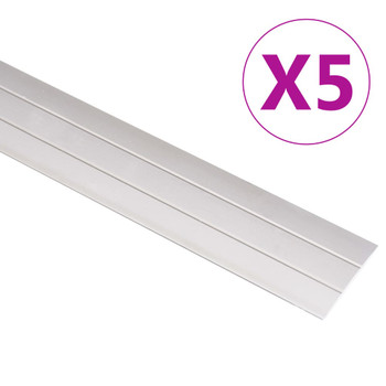 vidaXL Podni profili 5 kom aluminijski 90 cm zlatni
