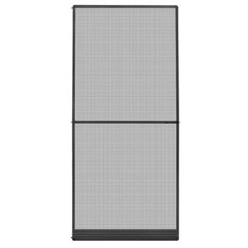 vidaXL Krilni zaslon protiv insekata za vrata antracit 100 x 215 cm