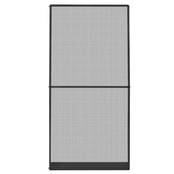 vidaXL Krilni zaslon protiv insekata za vrata antracit 120 x 240 cm