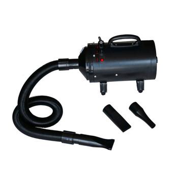 vidaXL Sušilo za pse s 3 mlaznice crno 2400 W