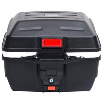 vidaXL Gornja kutija za motor 24 L za jednu kacigu