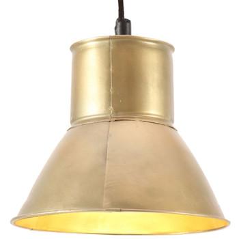 vidaXL Viseća svjetiljka 25 W mjedena okrugla 17 cm E27