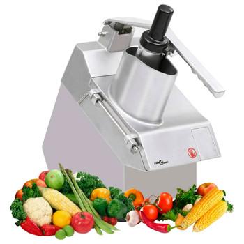 vidaXL Gastro rezač povrća s 5 oštrica od nehrđajućeg čelika 550 W
