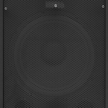 vidaXL Profesionalni pasivni scenski zvučnik 1000 W crni 32x32x64cm