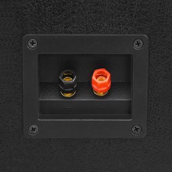 vidaXL Profesionalni pasivni scenski zvučnik 1200 W crni 43x43x75cm