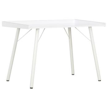 vidaXL Radni stol bijeli 90 x 50 x 79  cm