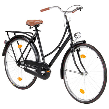 vidaXL Ženski nizozemski bicikl s kotačem od 28 inča i okvirom 57 cm
