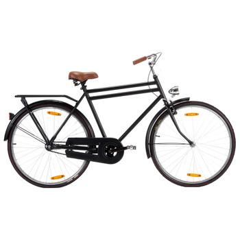 vidaXL Muški nizozemski bicikl s kotačem od 28 inča i okvirom od 57 cm