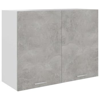 vidaXL Viseći ormarić siva boja betona 80 x 31 x 60 cm od iverice