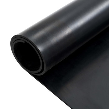 vidaXL Podna prostirka od protuklizne gume 1,2 x 2 m 8 mm glatka