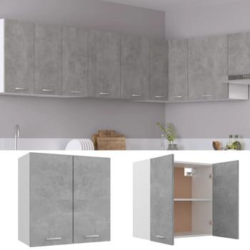 vidaXL Viseći ormarić siva boja betona 60 x 31 x 60 cm od iverice