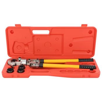 vidaXL Hidraulična kliješta za prešanje 16-20-26-32 mm