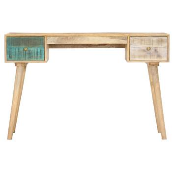 vidaXL Radni stol 118 x 50 x 75 cm od masivnog drva manga