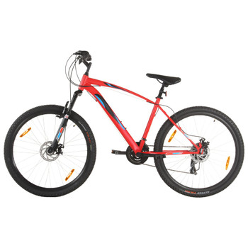 """vidaXL Brdski bicikl 21 brzina kotači od 29 """" okvir od 48 cm crveni"""