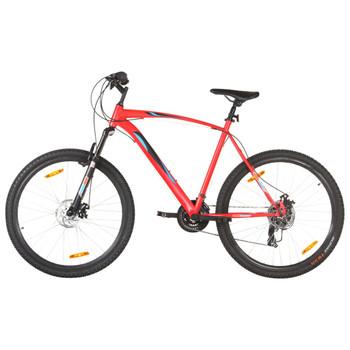 """vidaXL Brdski bicikl 21 brzina kotači od 29 """" okvir od 58 cm crveni"""
