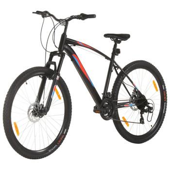 """vidaXL Brdski bicikl 21 brzina kotači od 29 """" okvir od 48 cm crni"""